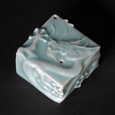 Dragon Droplet, celadon glaze