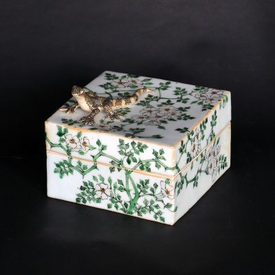 Gecko and Wild Rose Box