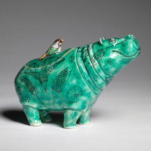 Hippo Pot, gazing
