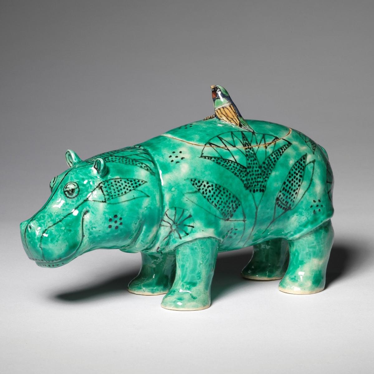 Hippo Pot, standing