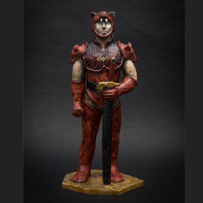 Red Werewolf by Kensuke Fujiyoshi