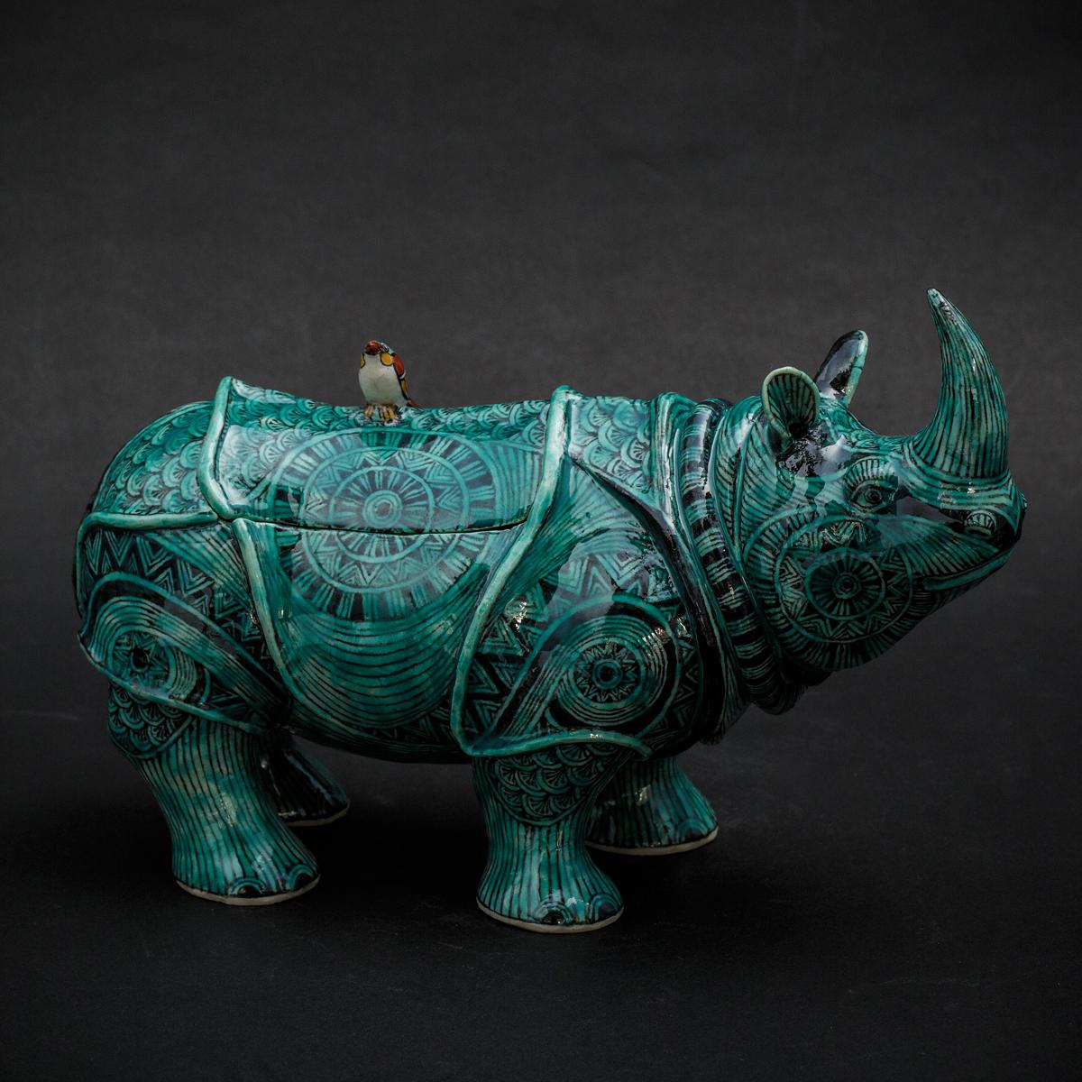 Green Rhino by Kensuke Fujiyoshi