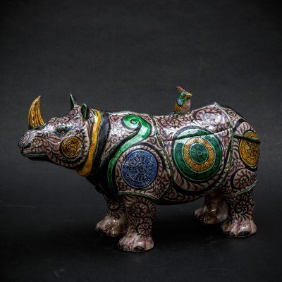 Purple Rhino by Kensuke Fujiyoshi