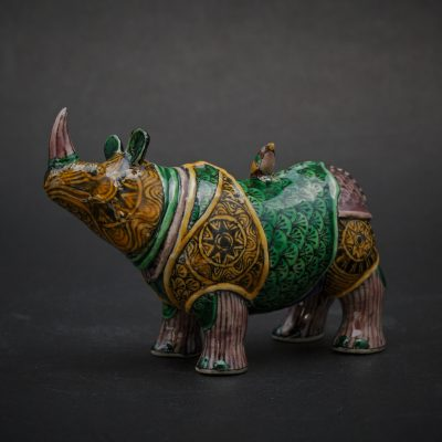 Small Rhino by Kensuke Fujiyoshi