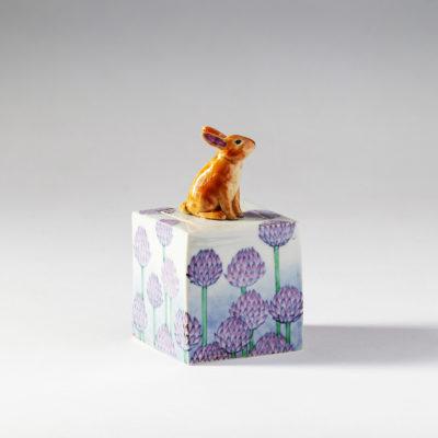 Hare and Flower ( Kensuke Fujiyoshi )