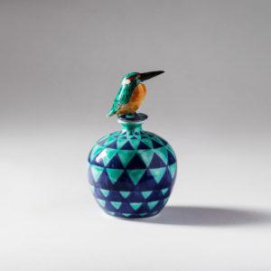 Kingfisher bottle ( Kensuke Fujiyoshi )