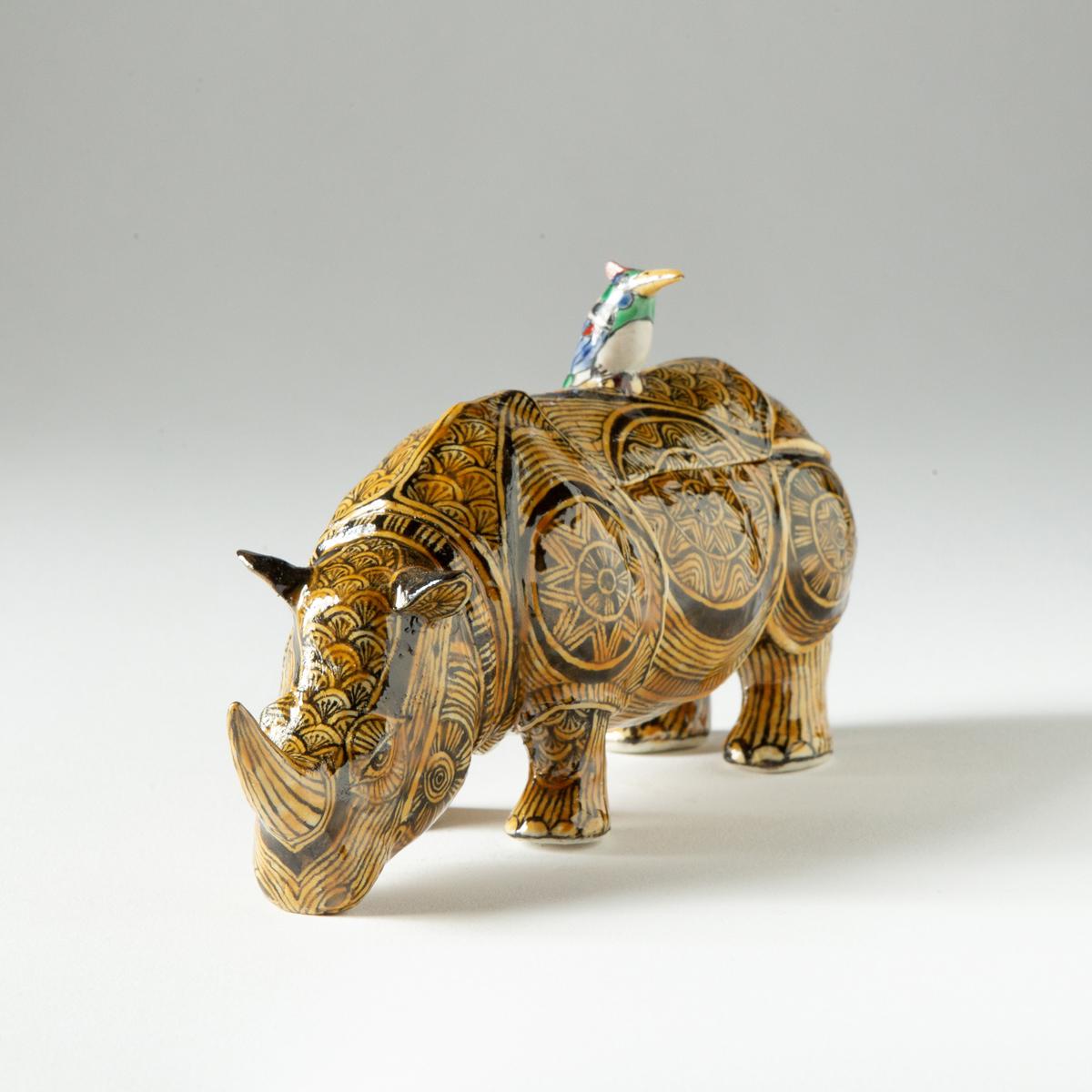 Yellow Rhino (Kensuke Fujiyoshi)